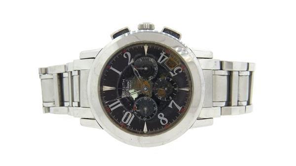 Zenith El Premiero Steel Automatic Watch