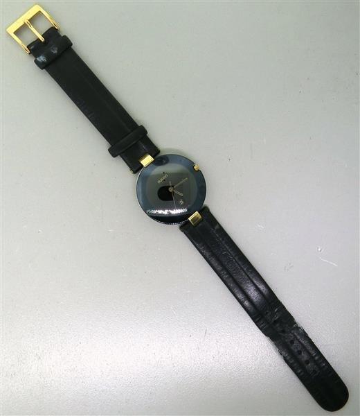 Rado Leather Band Watch