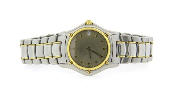 Ebel 18k Gold Stainless Steel Watch