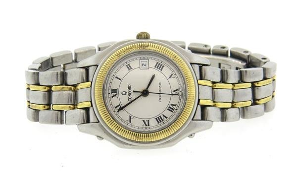 Concord Steeplechase Two Tone Gold Steel Watch