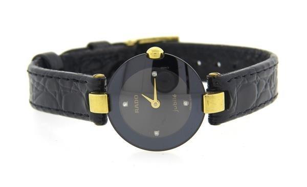 Rado Jubile Diamond Leather Band Watch