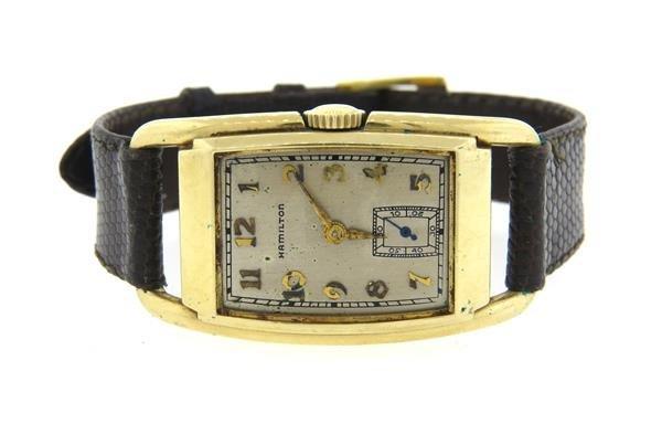 1930s Hamilton GF  Watch cal. 980