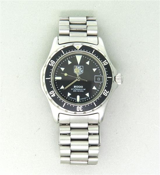 Tag Heuer 2000 Professional Watch 973 013