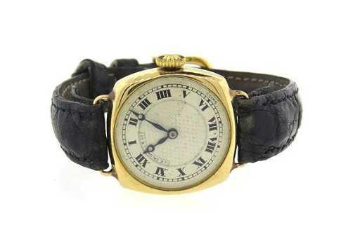 d8ec307d1aa 14k Gold 1920s Vacheron Constantin J E Caldwell Watch