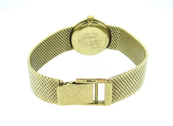 Geneva 14k Gold Watch Bracelet - 2