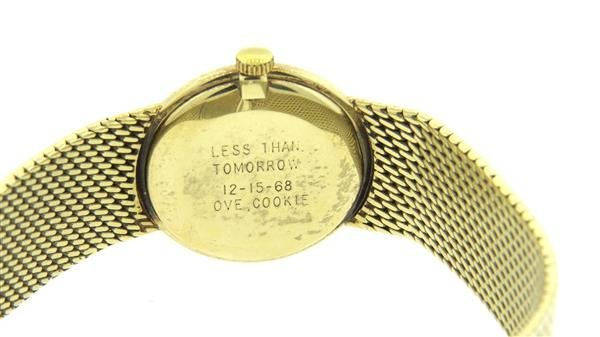 Geneva 14k Gold Watch Bracelet - 3