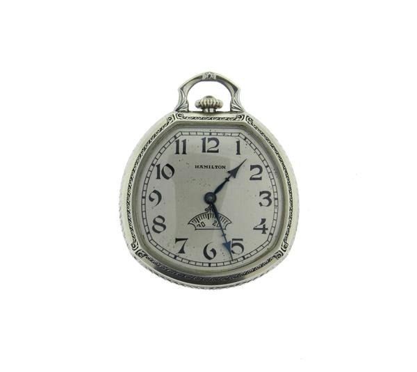 Rare Hamilton  Secometer Pocket Watch cal.912