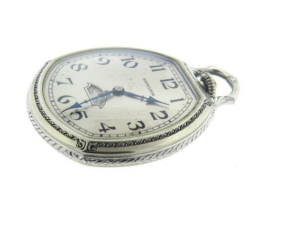 Rare Hamilton  Secometer Pocket Watch cal.912 - 2