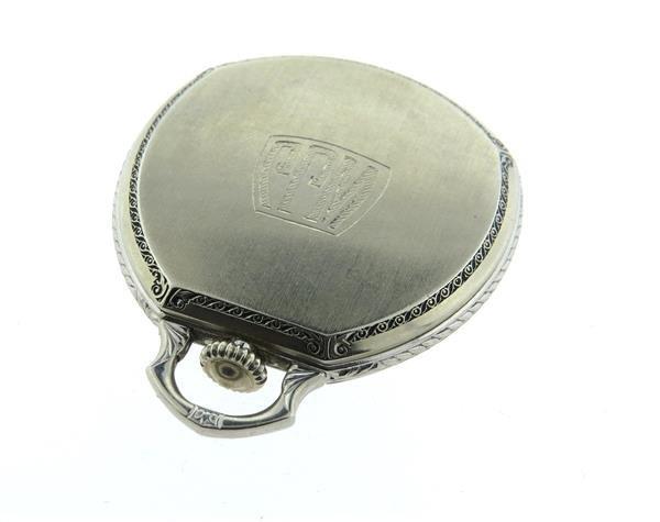 Rare Hamilton  Secometer Pocket Watch cal.912 - 3