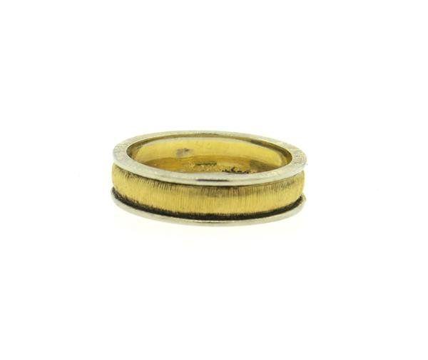 Mario Buccellati 18k Gold Band Ring