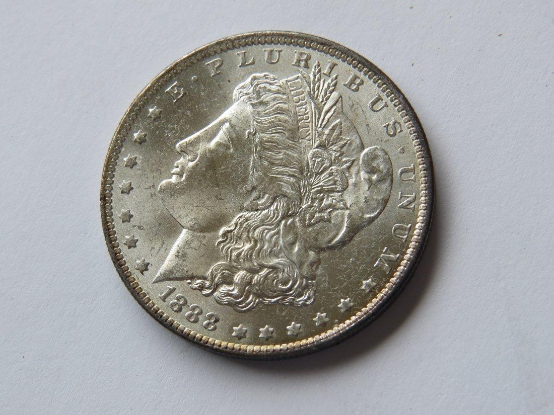 1888 O Morgan Silver Dollar US Coin