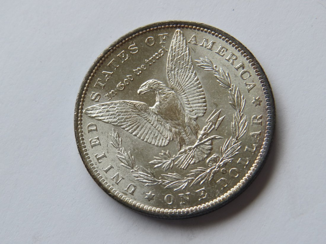 1888 O Morgan Silver Dollar US Coin - 2