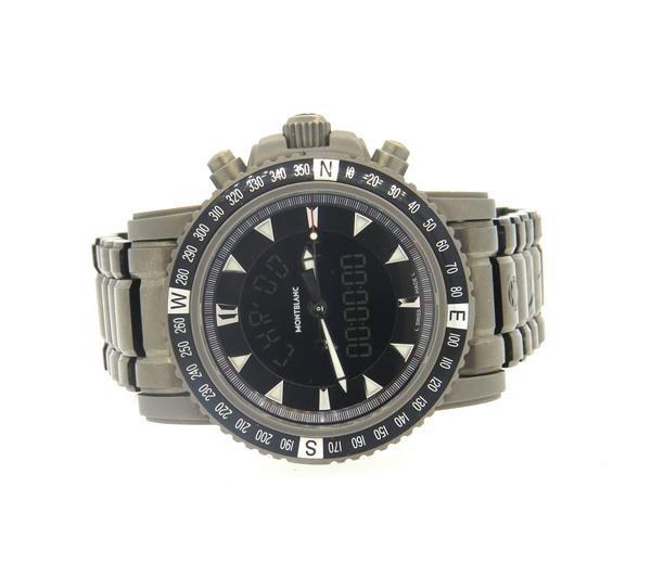 Montblanc XXL Titanium Digital Watch 7062