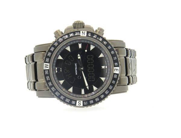 Montblanc XXL Titanium Digital Watch 7062 - 2
