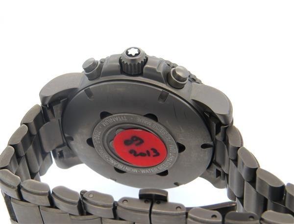 Montblanc XXL Titanium Digital Watch 7062 - 4