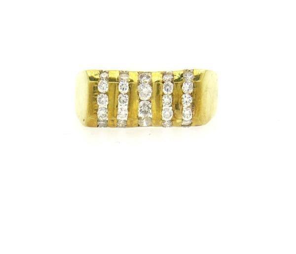 18K Gold 1.00ctw Diamond Ring