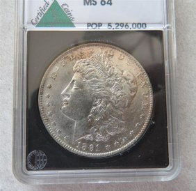 1891 S Silver Morgan Dollar Us Coin