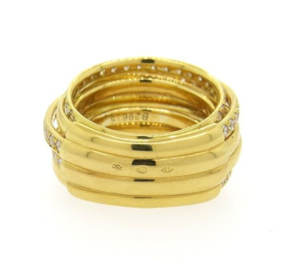 De Grisogono Allegra 18K Gold 2.00ctw Diamond Ring - 3