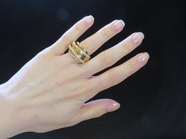De Grisogono Allegra 18K Gold 2.00ctw Diamond Ring - 5