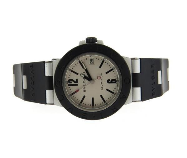 Bvlgari Bulgari Diagono Titanium Aluminum Rubber Watch
