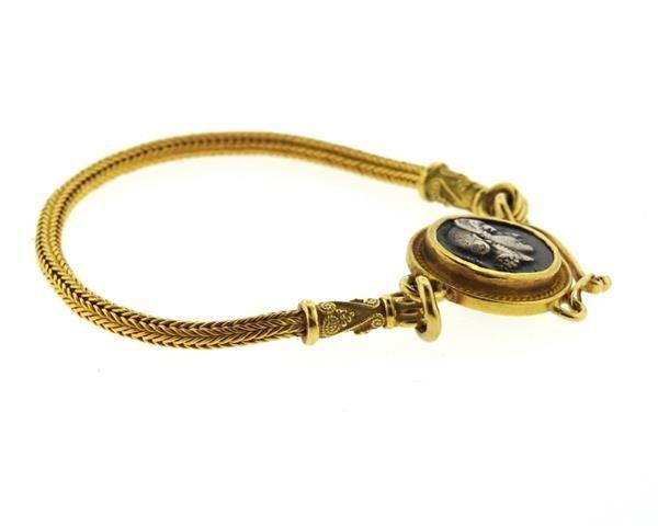 Daniel Gibbings 18K 22K Gold Coin Bracelet - 3