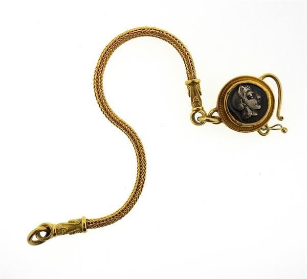 Daniel Gibbings 18K 22K Gold Coin Bracelet - 4