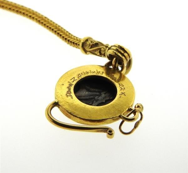 Daniel Gibbings 18K 22K Gold Coin Bracelet - 5