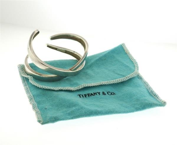 Tiffany & Co. Paloma Picasso Sterling Silver X Cuff - 4