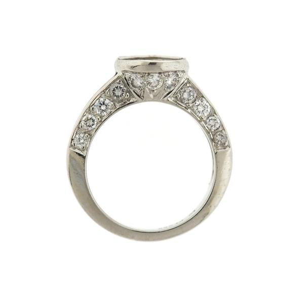 Platinum 1.75ctw Diamond Engagement Ring Mounting - 4