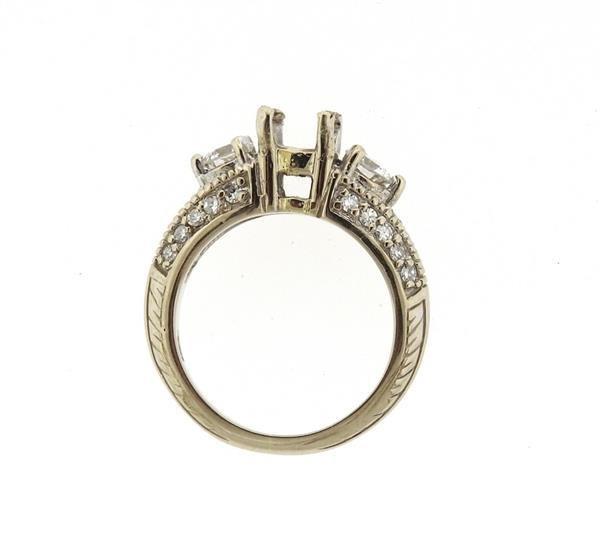 Delco 14k Gold Diamond Engagement Ring Setting - 4