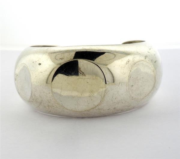 Los Ballesteros Mexican Sterling Silver Cuff Bracelet