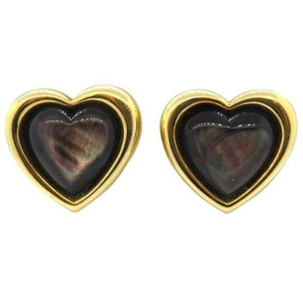 Mauboussin Black Mother of Pearl 18k Gold Heart - 2