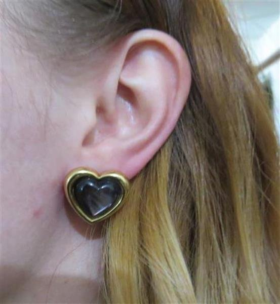 Mauboussin Black Mother of Pearl 18k Gold Heart - 3