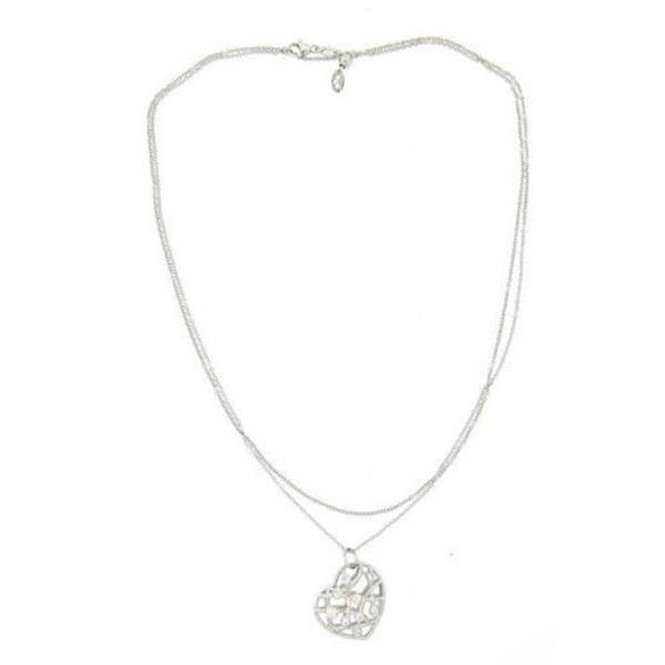 Hearts On Fire Brocade 18k White Gold Diamond Pendant - 2