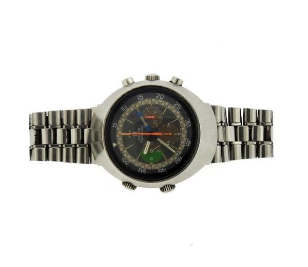 1970s Omega Flightmaster Steel Chronograph 145.013
