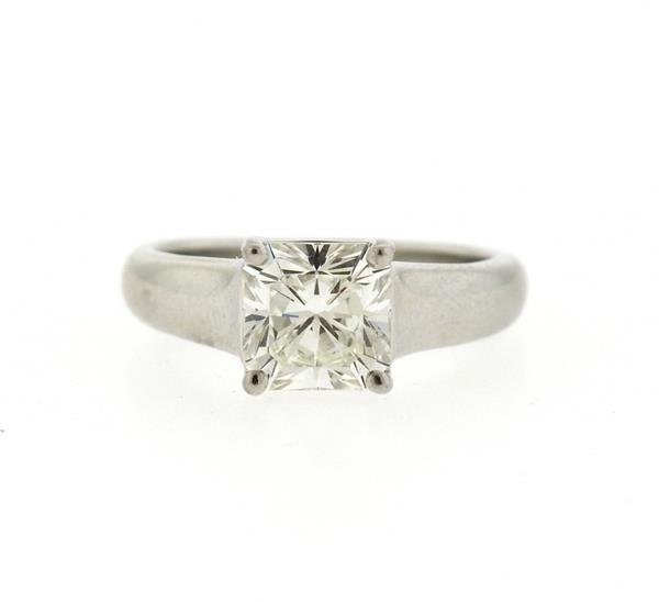 Tiffany & Co. Lucida Platinum 1.88ct VVS2 I Diamond