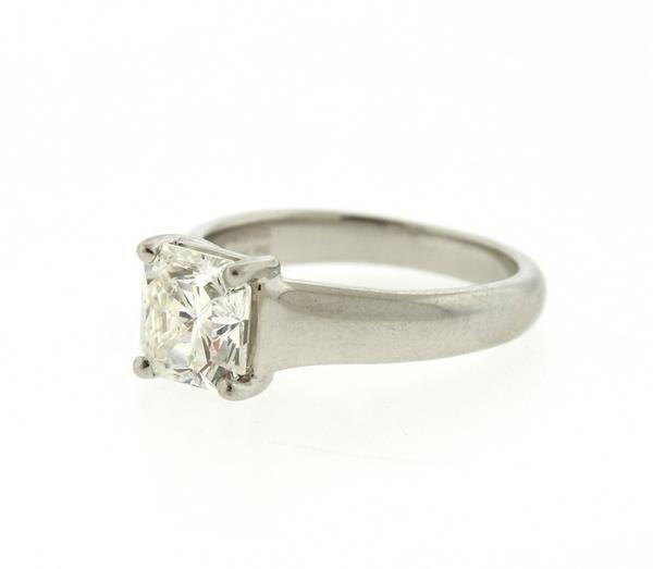 Tiffany & Co. Lucida Platinum 1.88ct VVS2 I Diamond - 2