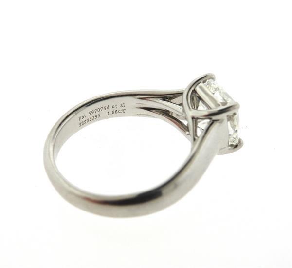 Tiffany & Co. Lucida Platinum 1.88ct VVS2 I Diamond - 5