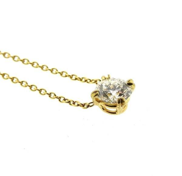 Harry Winston GIA 18K Gold 1.04ct  F VS2 Diamond - 2