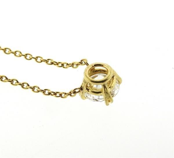 Harry Winston GIA 18K Gold 1.04ct  F VS2 Diamond - 3