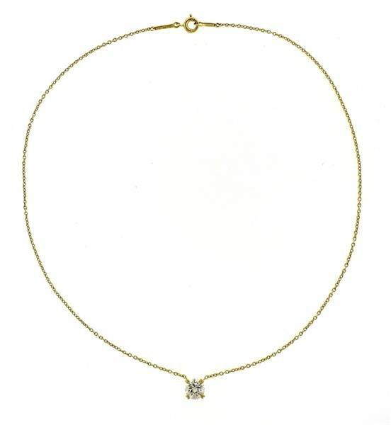 Harry Winston GIA 18K Gold 1.04ct  F VS2 Diamond - 4