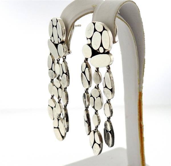 John Hardy Kali Menari Sterling Chandelier Earrings - 3