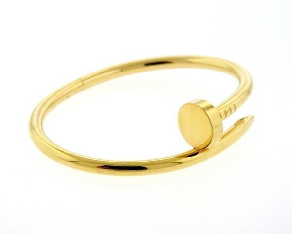 Cartier Juste Un Clou 18K Gold Nail Bracelet - 2