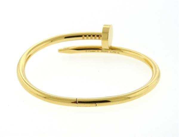 Cartier Juste Un Clou 18K Gold Nail Bracelet - 3