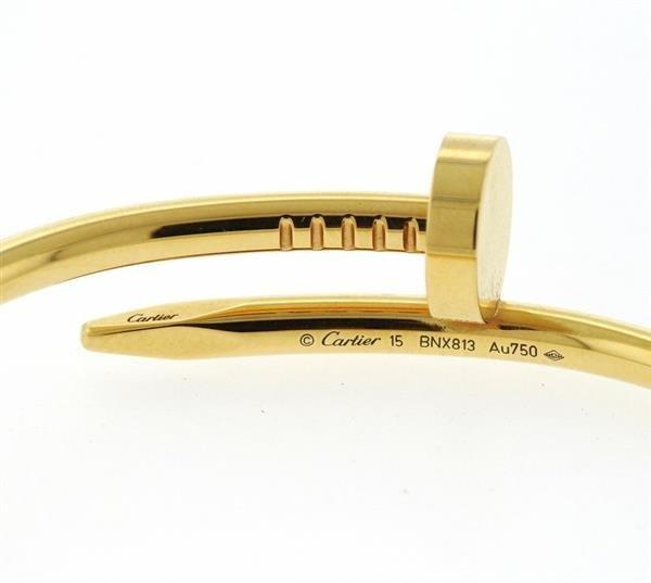 Cartier Juste Un Clou 18K Gold Nail Bracelet - 4