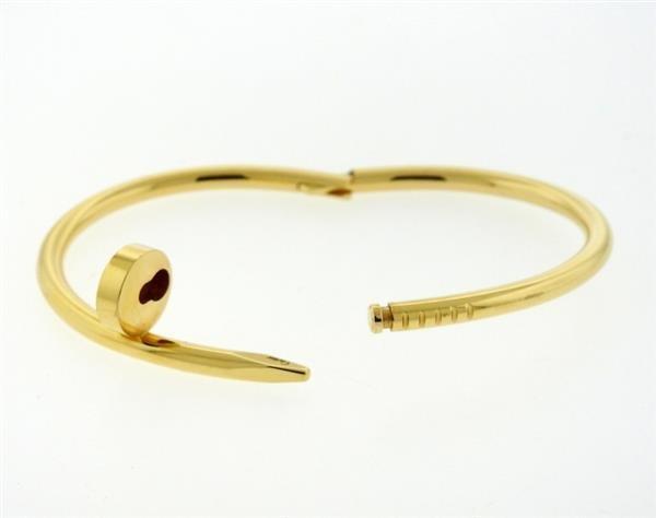 Cartier Juste Un Clou 18K Gold Nail Bracelet - 5