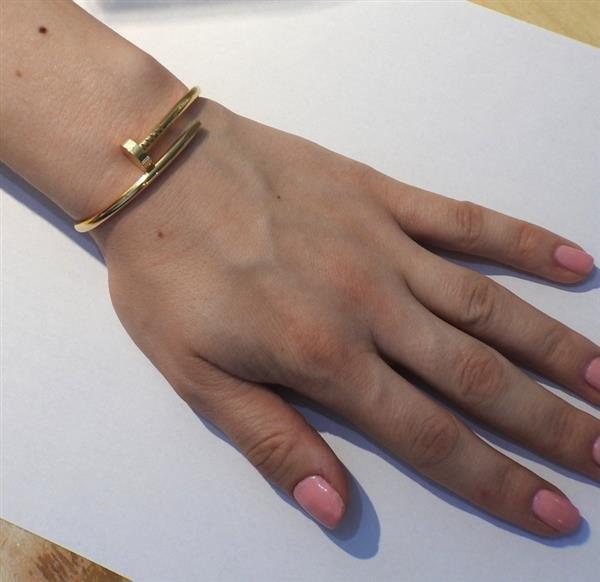 Cartier Juste Un Clou 18K Gold Nail Bracelet - 6