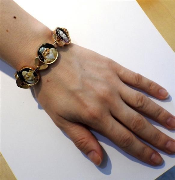 18k Gold  Japanese Toshikane  Bracelet - 6