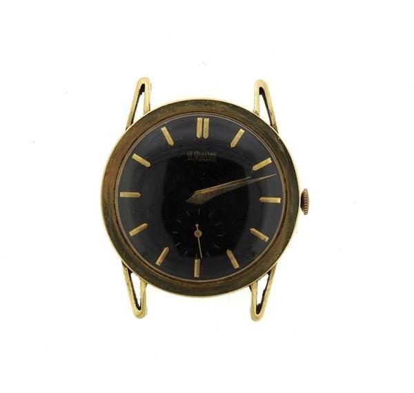 Vintage LeCoultre 14k Gold  Watch