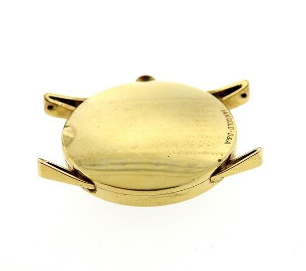 Vintage LeCoultre 14k Gold  Watch - 4